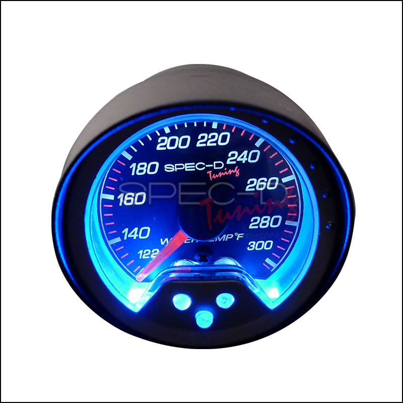 Spec-D Tuning® Water Temperature Gauge