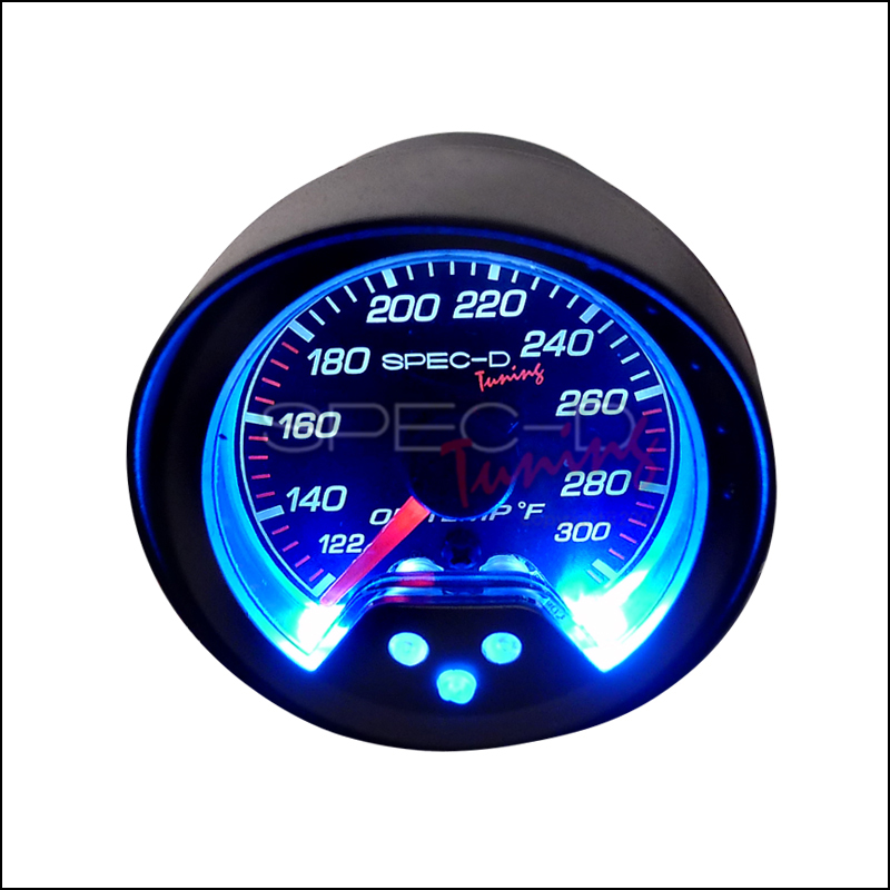 Spec-D Tuning® Oil Temperature Gauge