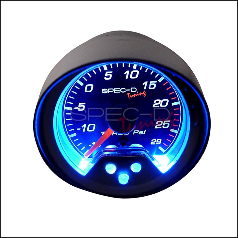 Spec-D Tuning® Turbo Boost Gauge