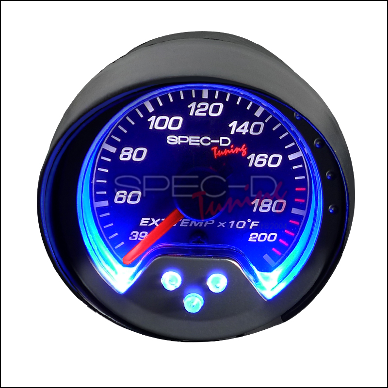 Spec-D Tuning® Exhaust Temperature Gauge