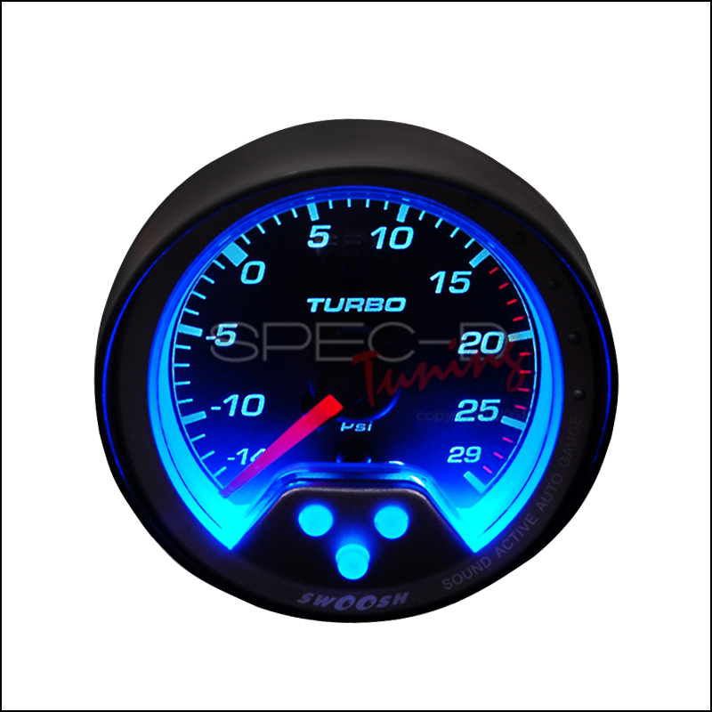 Spec-D Tuning® Turbo Boost Swoosh Gauge