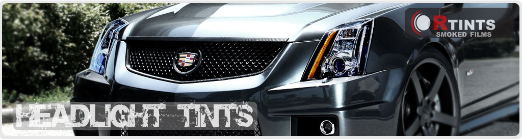 Cadillac Headlight Tint
