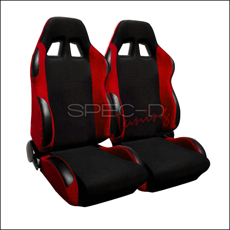 Spec-D Tuning® Universal Bride Style Racing Seats