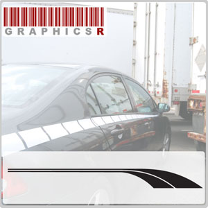 Side Stripes - Mopar Body Graphic