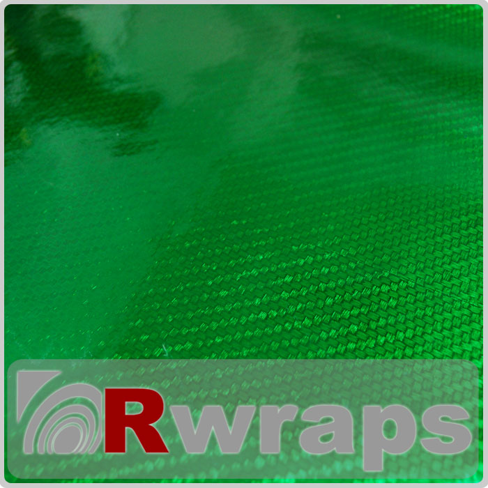 Carbon Fiber Vinyl R3 Green