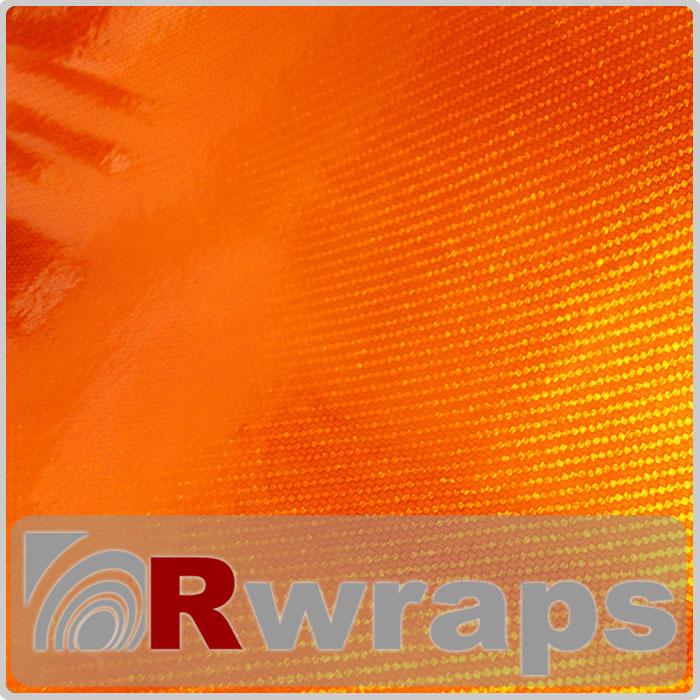 Carbon Fiber Vinyl R3 Orange