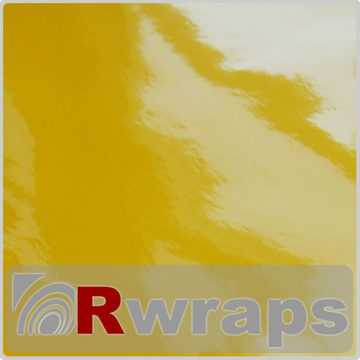 Rwraps Vinyl Film - Yellow