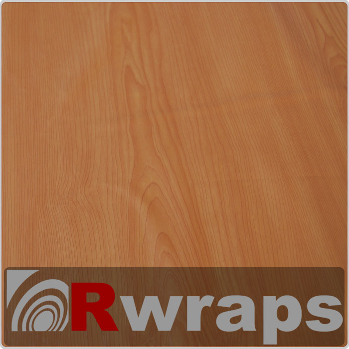 Wood Grain Vinyl Film - Cherry