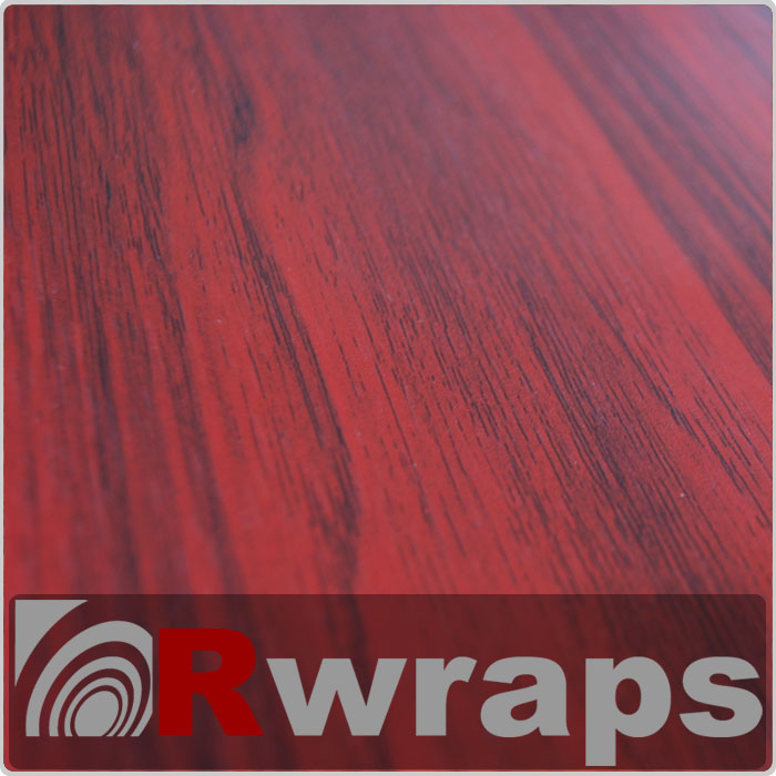 Wood Grain Vinyl Film - Mahogany